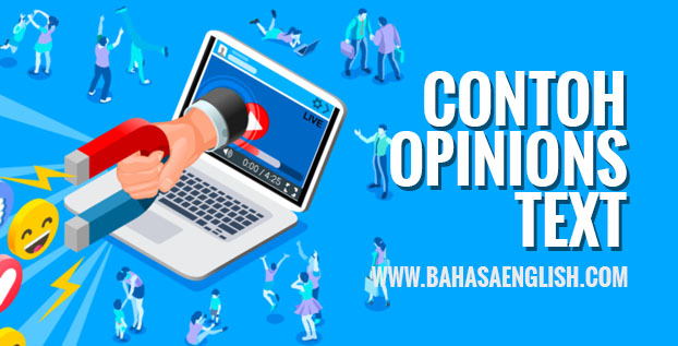 Contoh Opinion Text Social Media