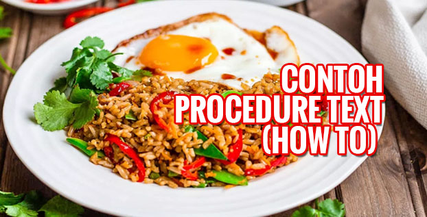 Contoh Procedure Text How To