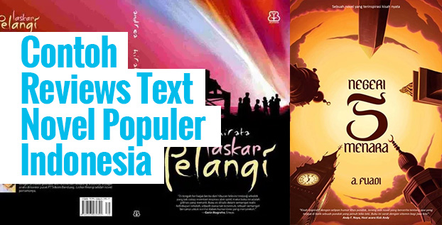Contoh Reviews Text Novel